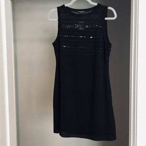 NWT Banana Republic Black Sequin Dress